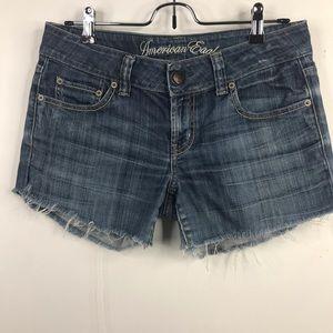 American Eagle Denim Cut Off Shorts - Upcycled